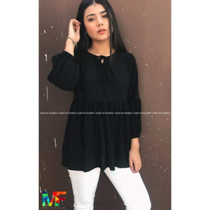 Black Dholki Kurti - Mart of Fashion