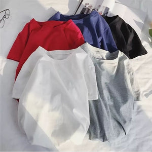 Pack of 4 Plain T-shirt