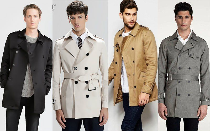 Trench Homme Court