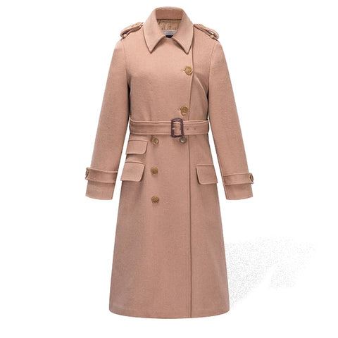 Trench Femme Camel