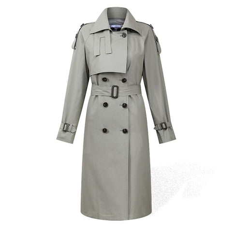 Trench-Femme-Gris