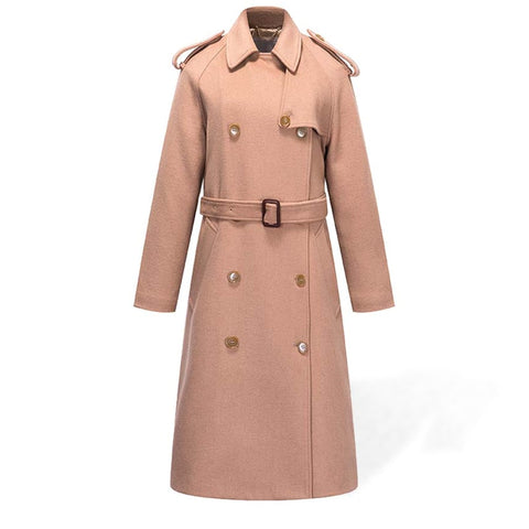 Trench Coat Femme Laine
