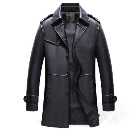 Trench Homme Cuir