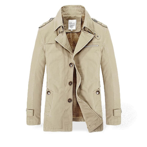Trench Homme Imperméable Beige