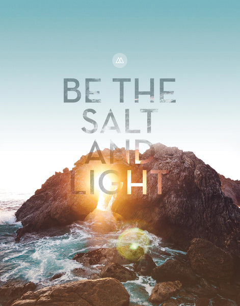 SALT AND LIGHT PRINT