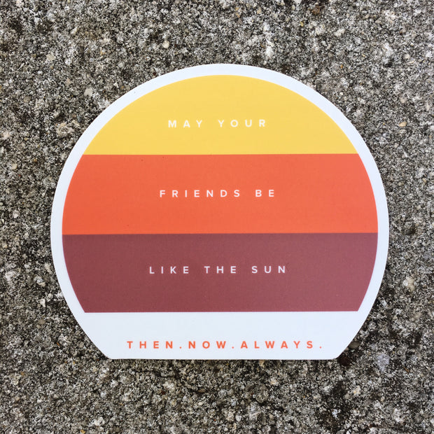 Like The Sun Sticker