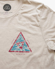 Triangle Tee - Cream