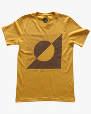 Friends Like The Sun Tee - Vintage Gold