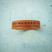 Warped Tour 25th Anniversary Bracelet
