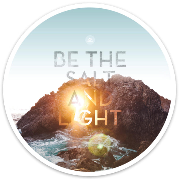 Salt And Light Sticker