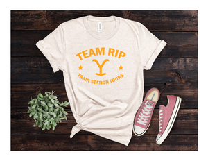 Yellowstone Tank Tops - Team Rip Train Station Tours