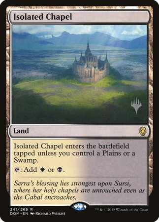 Isolated Chapel [Dominaria Promos] | Alternate Worlds