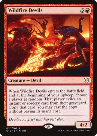 Wildfire Devils [Commander 2019] | Alternate Worlds
