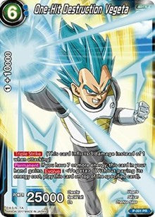 One-Hit Destruction Vegeta [P-001] | Alternate Worlds