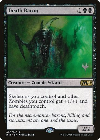 Death Baron [Core Set 2019 Promos] | Alternate Worlds