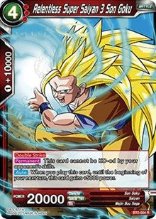 Relentless Super Saiyan 3 Son Goku [BT2-004] | Alternate Worlds