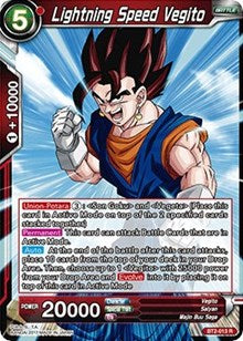 Lightning Speed Vegito [BT2-013] | Alternate Worlds