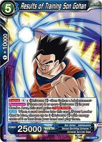 Results of Training Son Gohan [TB1-028] | Alternate Worlds