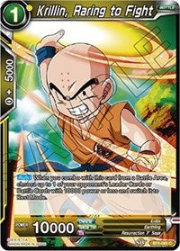 Krillin, Raring to Fight [BT5-085] | Alternate Worlds