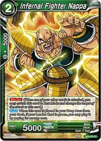 Infernal Fighter Nappa [BT5-071] | Alternate Worlds