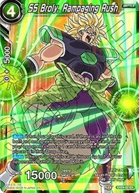 SS Broly, Rampaging Rush [EX04-02] | Alternate Worlds