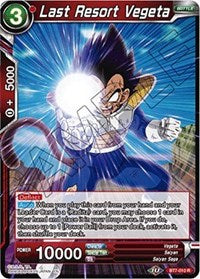 Last Resort Vegeta [BT7-010] | Alternate Worlds