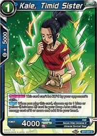 Kale, Timid Sister [BT7-041] | Alternate Worlds