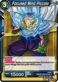 Focused Mind Piccolo (Shatterfoil) [TB1-032] | Alternate Worlds