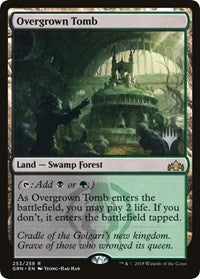Overgrown Tomb [Promo Pack: Throne of Eldraine] | Alternate Worlds