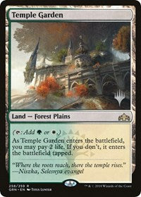 Temple Garden [Promo Pack: Throne of Eldraine] | Alternate Worlds