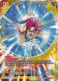 Son Goku, Dawn of Divinity [BT8-109] | Alternate Worlds