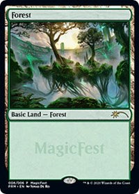 Forest (2020) [MagicFest Cards] | Alternate Worlds