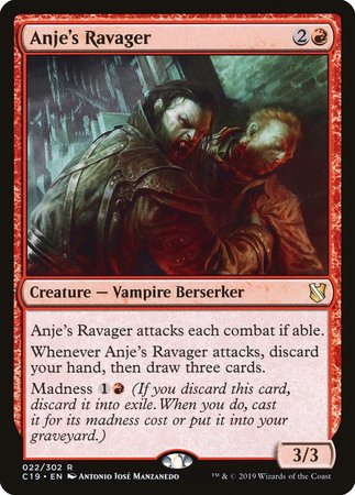 Anje's Ravager [Commander 2019] | Alternate Worlds