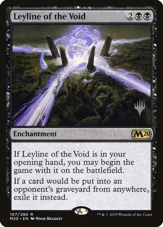 Leyline of the Void [Core Set 2020 Promos] | Alternate Worlds