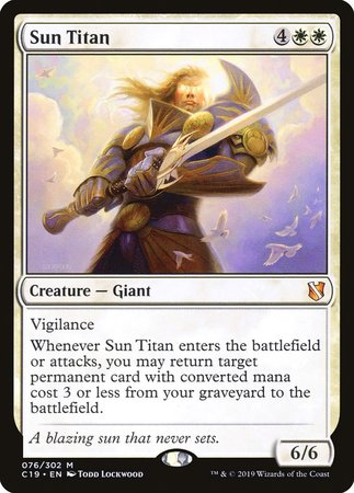 Sun Titan [Commander 2019] | Alternate Worlds