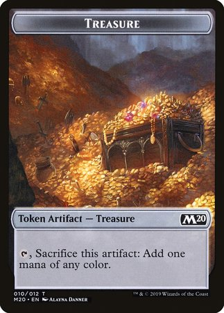 Treasure Token [Core Set 2020 Tokens] | Alternate Worlds