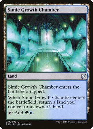 Simic Growth Chamber [Commander 2019] | Alternate Worlds