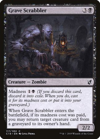 Grave Scrabbler [Commander 2019] | Alternate Worlds