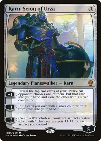 Karn, Scion of Urza [Dominaria Promos] | Alternate Worlds