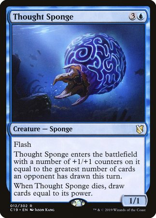 Thought Sponge [Commander 2019] | Alternate Worlds