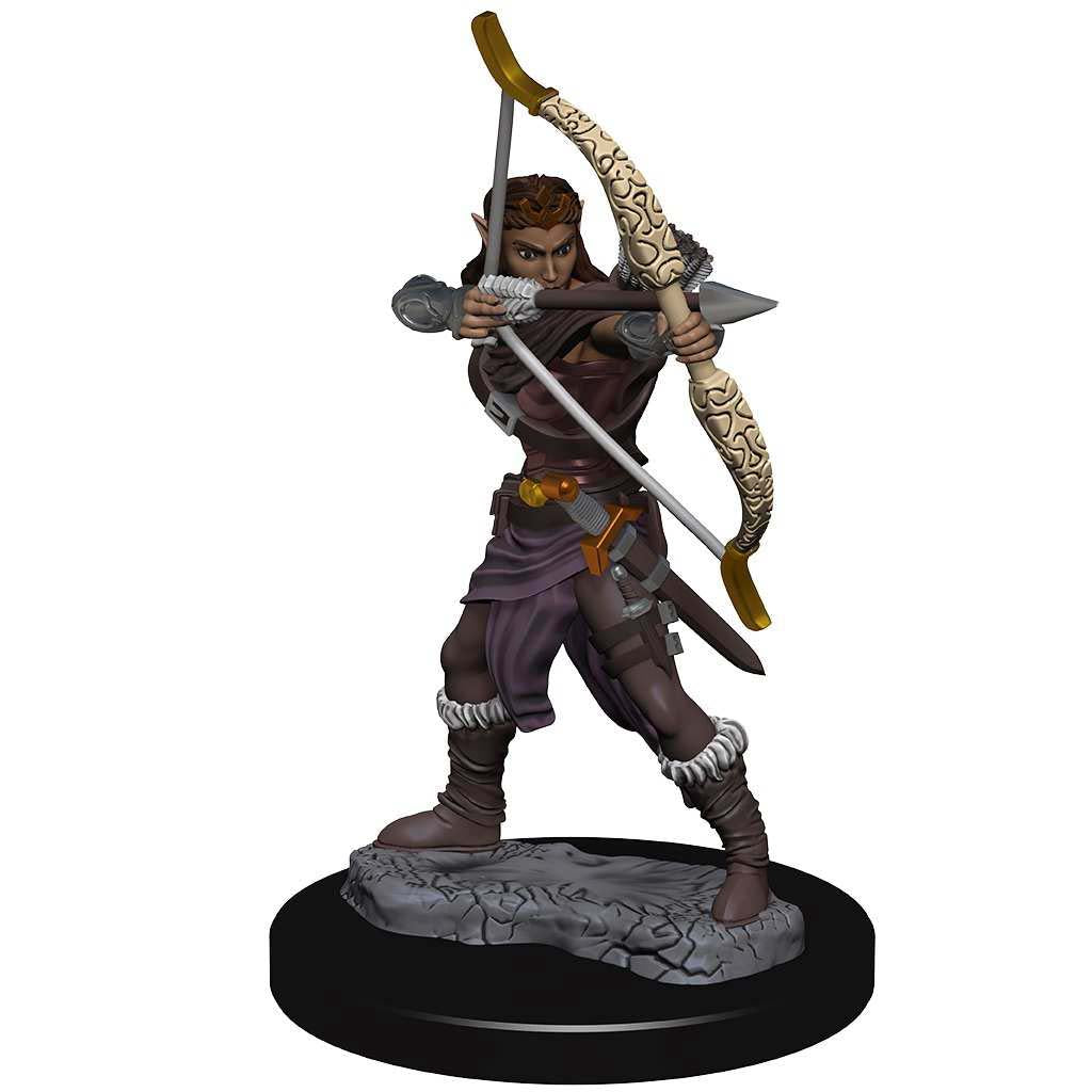 Dungeons & Dragons Icons of the Realms Premium Figures: W2 Female Elf Ranger | Alternate Worlds