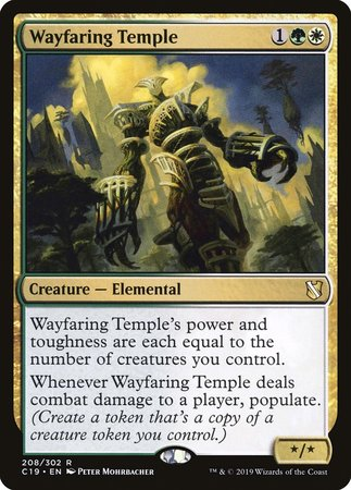 Wayfaring Temple [Commander 2019] | Alternate Worlds