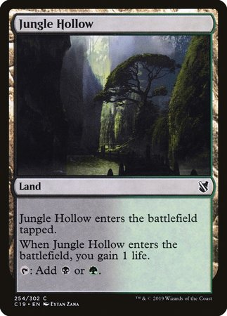 Jungle Hollow [Commander 2019] | Alternate Worlds
