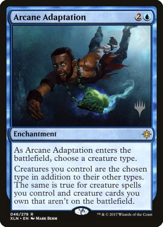Arcane Adaptation [Ixalan Promos] | Alternate Worlds