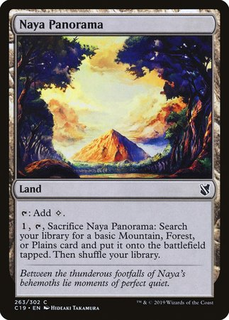 Naya Panorama [Commander 2019] | Alternate Worlds
