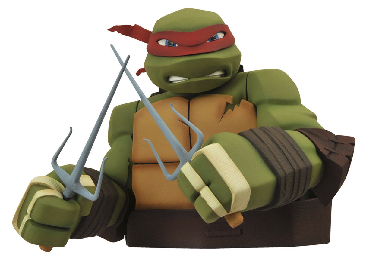 TMNT RAPHAEL BUST BANK (C: 1-1-2) | Alternate Worlds
