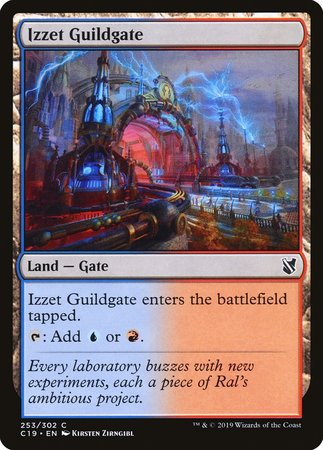Izzet Guildgate [Commander 2019] | Alternate Worlds