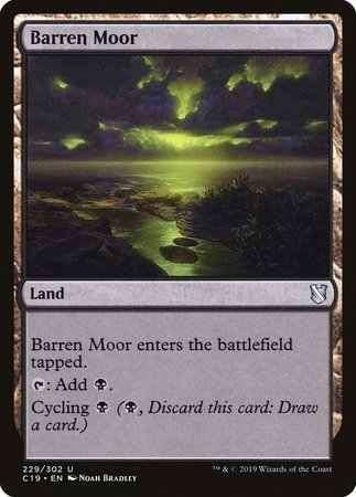 Barren Moor [Commander 2019] | Alternate Worlds