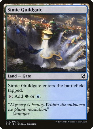 Simic Guildgate [Commander 2019] | Alternate Worlds