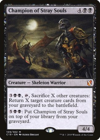 Champion of Stray Souls [Commander 2019] | Alternate Worlds